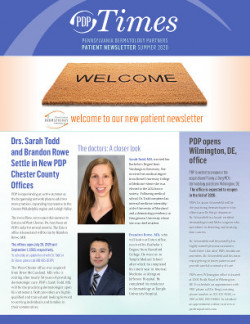 PDP Patient newsletter summer